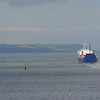 STENA HIBERNEG sets sail and leaves Belfast behind. 090614