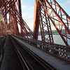 Crossing over the Forth Bridge. 010314