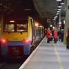 175105 calls at Crewe working the 2135 Manchester / Shrewsbury. 010514