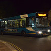The rail replacement bus service from Rhyl to Holyhead. 010514