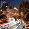 Lombard Street uphill