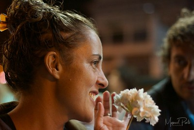 Paola with jasmine flower