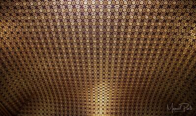 Mosaic celing