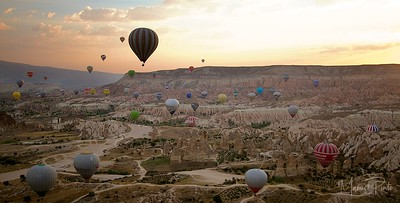 Hot Air Balloons at Sunrise