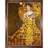 Gustav Klimt painting, Adele Block-Bauer I (1907)