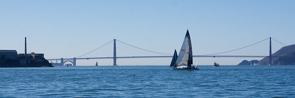 Sailing on SF Bay with Kelvin and Renee