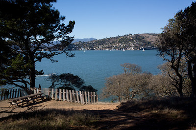 Hiking and exploring on Angel Island