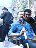 Istanbul café life -- hookah and backgammon essential