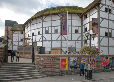 20140831. Globe Theater (Shakespeare), London.