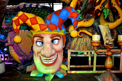 New Orleans, LA Mardi Gras World