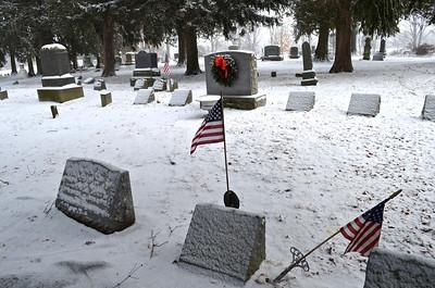 Cemetery in Lehman, PA