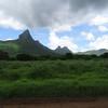 Hills in Mauritius