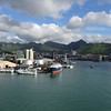 Harbor in Port Louis, Mauritius