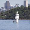 Lighthouse in Sydney Harbor