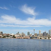 Downtown Sydney from the harbor