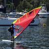 Windsurfing to work