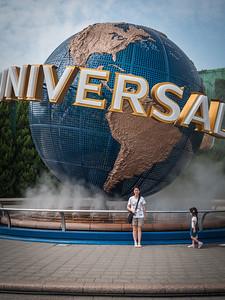 At Universal Studios, Japan