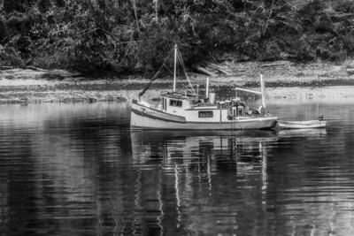 Small Boat near Shelton, WA