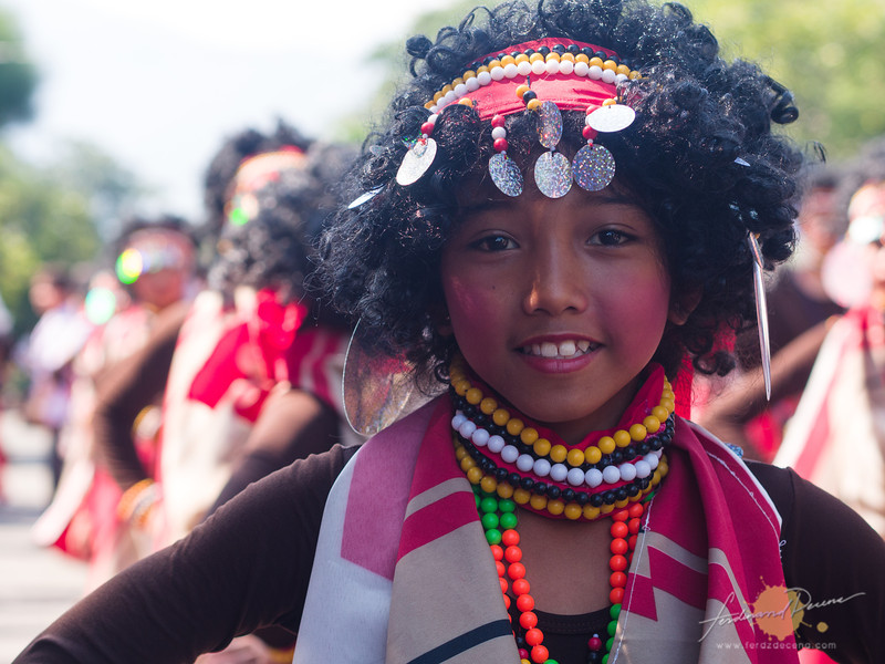 A young dumagat performer from Aritao