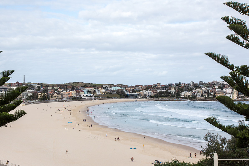 Bondi Beach, near Sydney