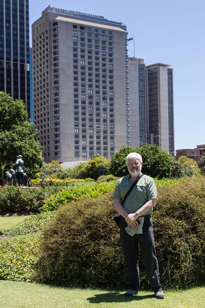 Botanical Gardens and InterContinental Hotel, Sydney