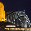 Sydney Harbor Bridge with Park Hyatt in front