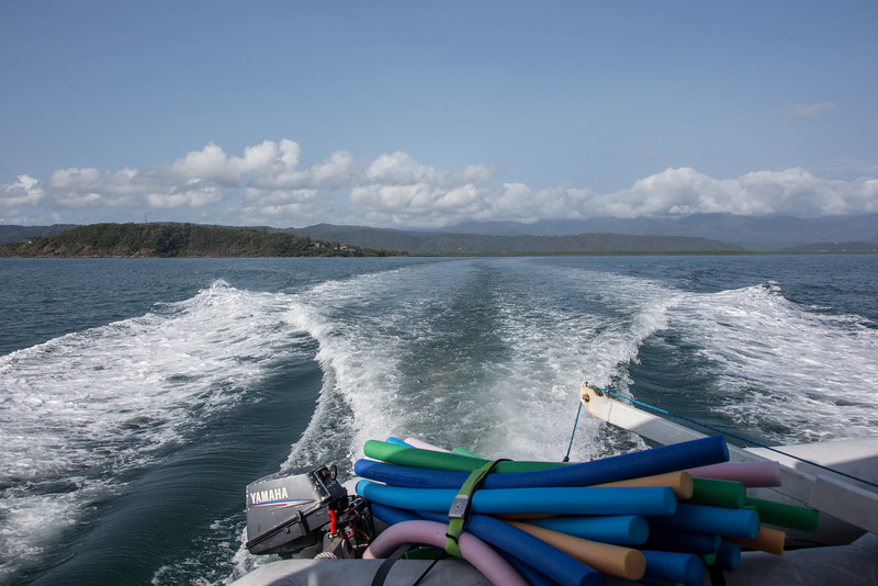 On the way to Great Barrier Reef