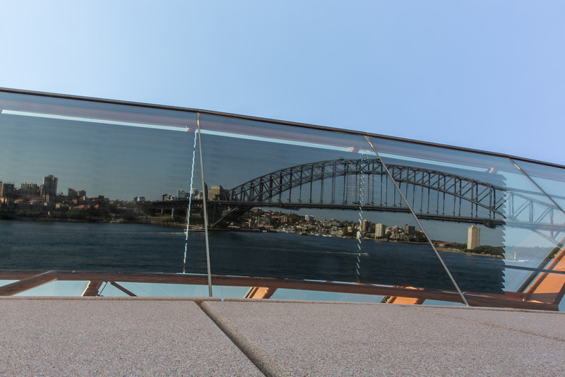 Reflection in Opera House