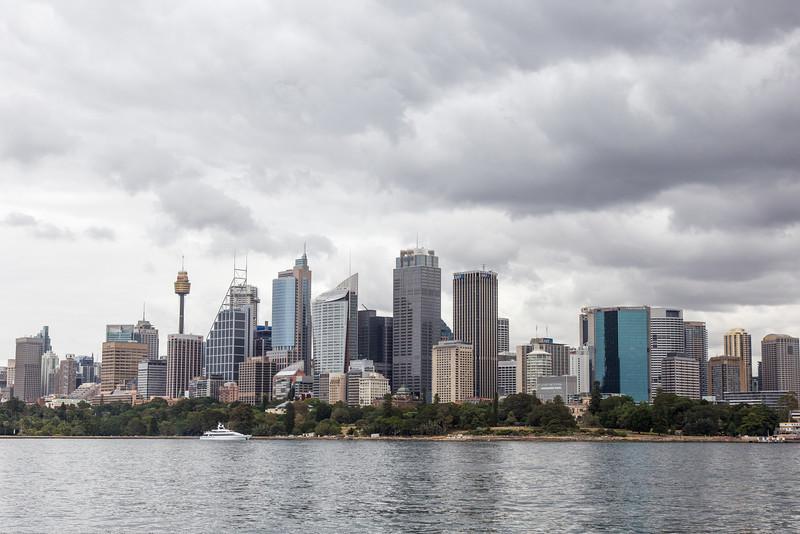 Sydney from Harbor