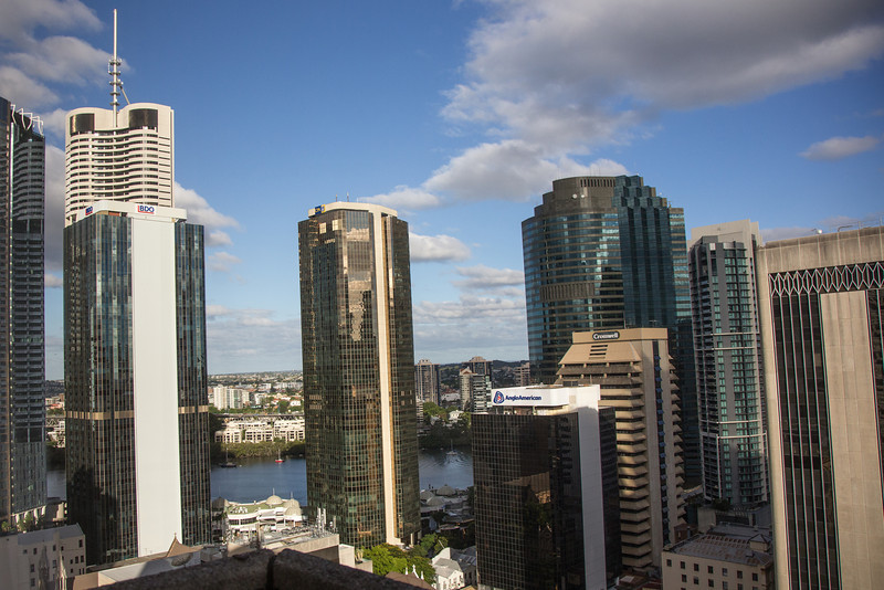 Brisbane - view from hotel