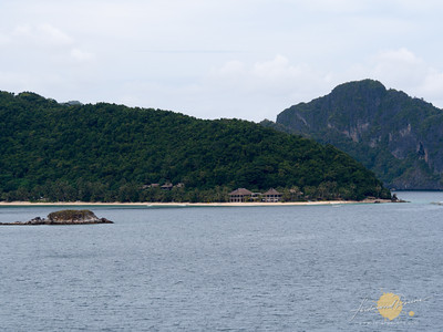 Backpack Photography El Nido Photo Tour View of Pangulasian from Snake Island