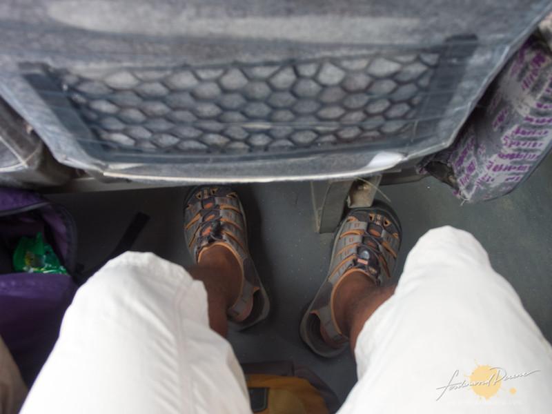 Comfortable leg room