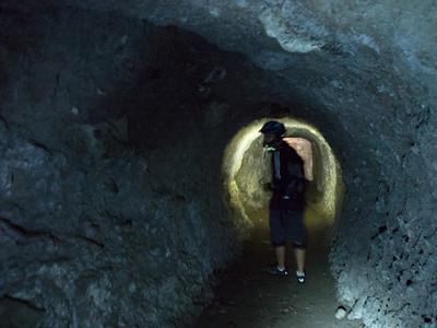 Biking Batanes  Japanese Tunnels