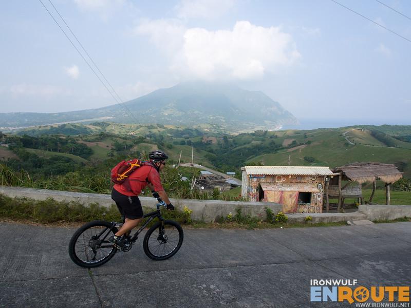 At a high point at Tukon Hills