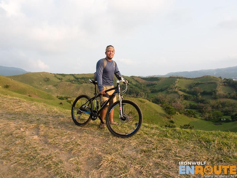 Me and my bike at Vayang Hills