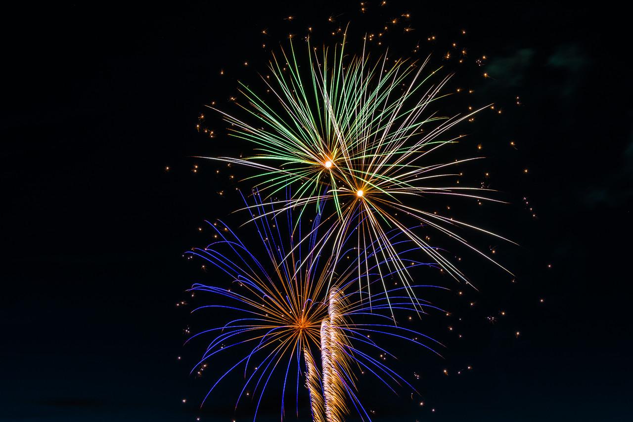 Fireworks, Boston Harbor, WA.