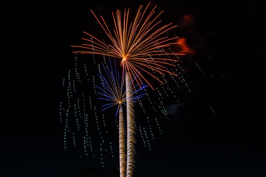 Fireworks, Boston Harbor, WA