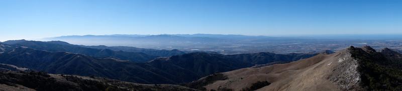 Southern exposure panorama