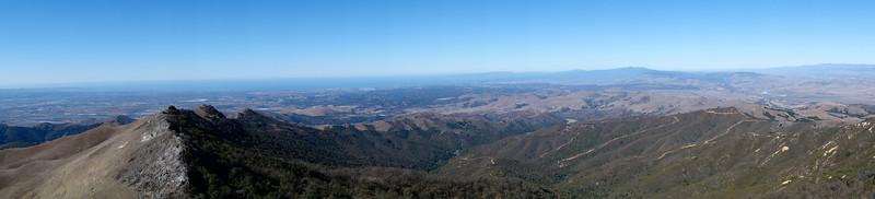Monterey Bay panorama