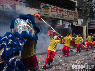 Binondo China Town Chinese New Year Dragon Dance