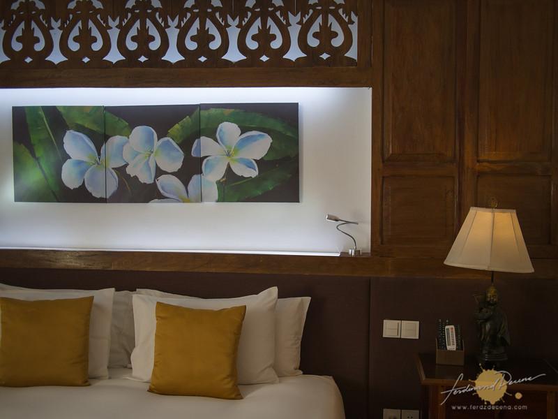 Beautiful callado woodwork design in the One-bedroom Suite