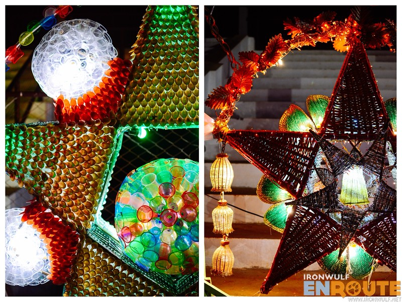 More christmas lanterns made from recycled materials