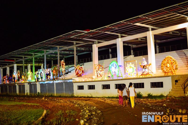 Christmas lantern display