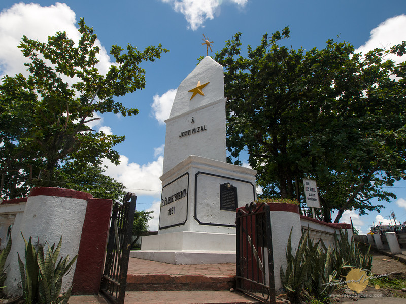 The first Rizal Monument in the country is found in Daet