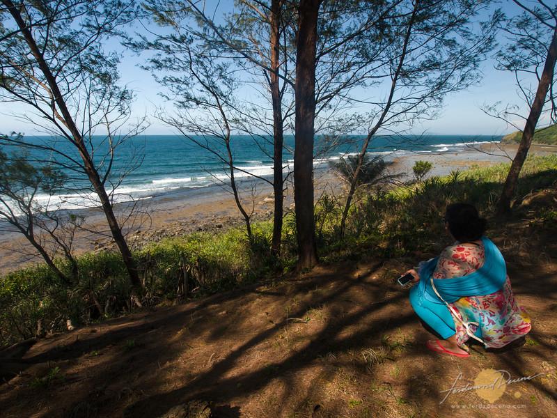 Enjoying the highest vantage point of Apuao Pequeña