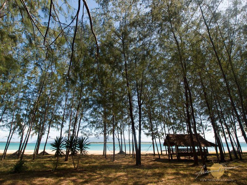 The camping grounds at Apuao Pequeña