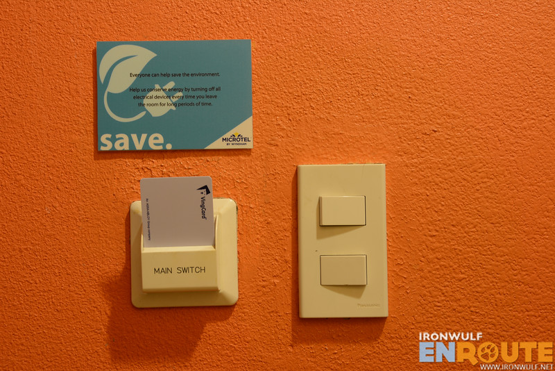 Encouraging guest to save and be mindful of the environment