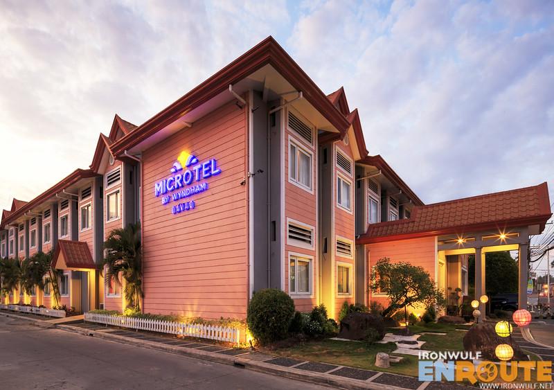Facade of Microtel Davao