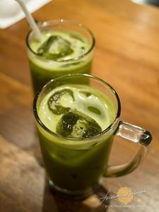 Hanamaruken Ramen | Ice Green Tea