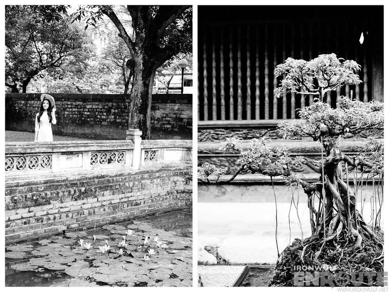 More scene at the Temple of Literature
